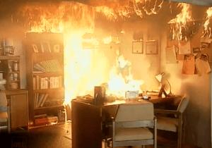 حفاظت اسناد از آتش سوزی
